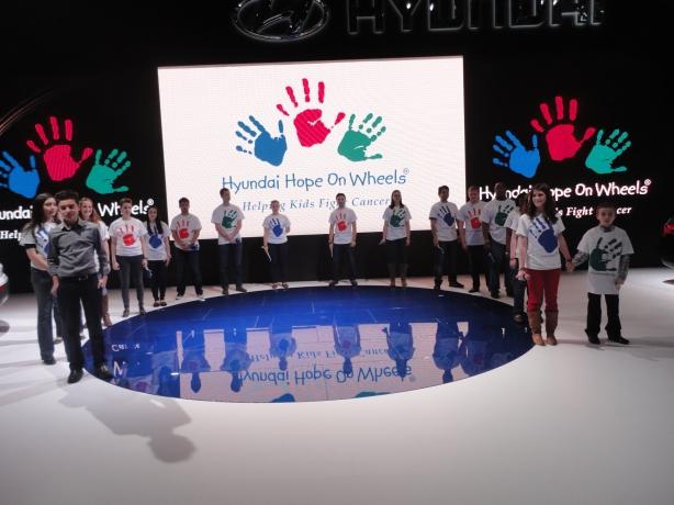Hyundai Hope On Wheels Stage